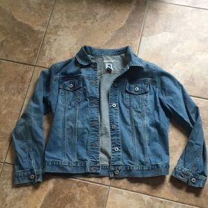 Gap faded stretch jean jacket